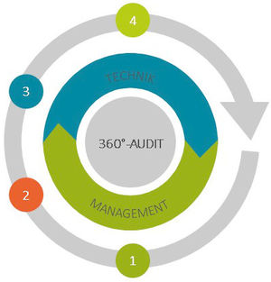 360 Grad Audit Grafik